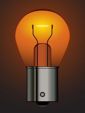 baionetta: vettoriale a baionetta della lampadina auto