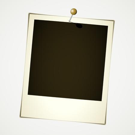 vector instant photo Vector