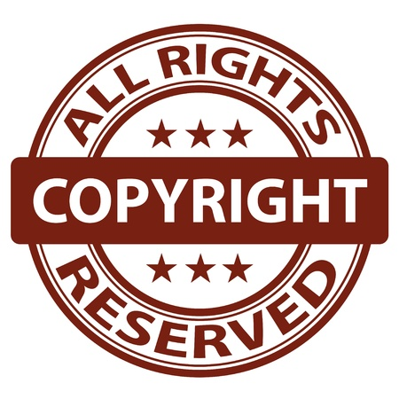 verified: vector pure copyright stamp