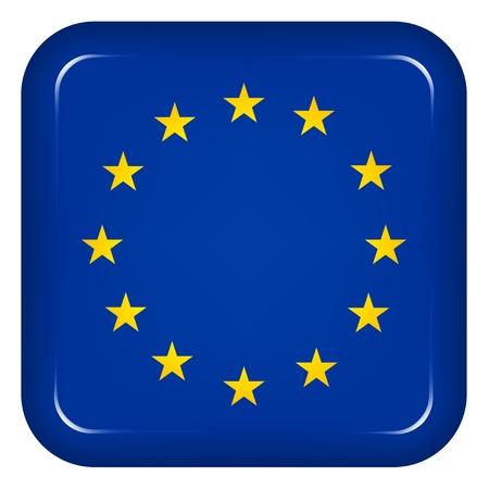 eu flag: Vector EU flag