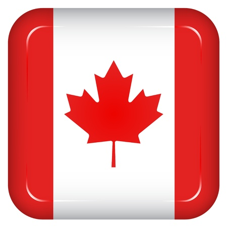 Vector canada flag Stock Vector - 11504836