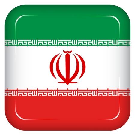 iran: Vector iran flag
