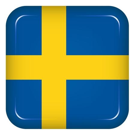 sweden flag: Vector svezia bandiera