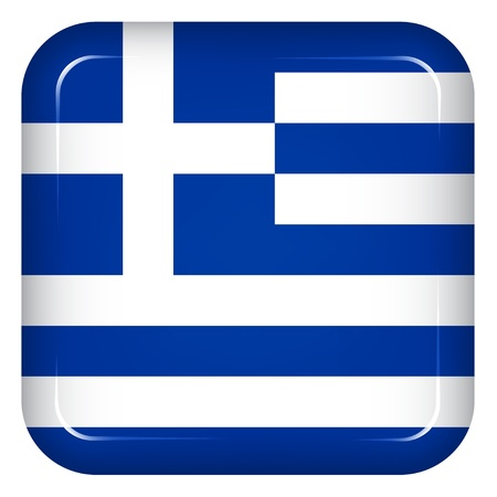 Vector greece flag Vector