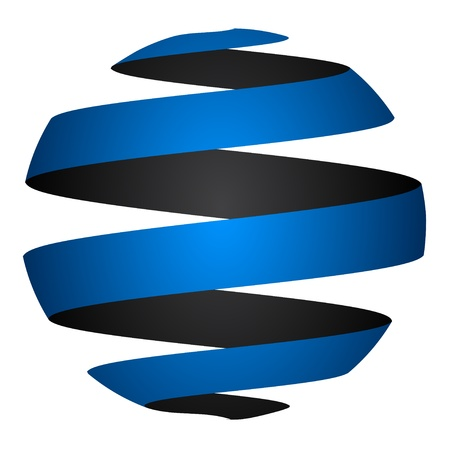 vector abstract globe Vector