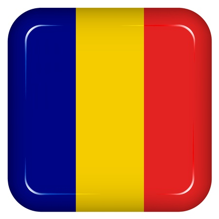 romania: Vector romania flag
