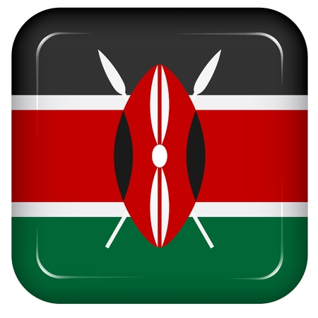 Vector kenya flag Vector