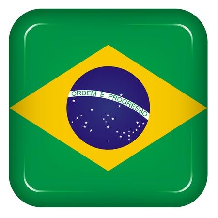 Vector brazil flag Vector