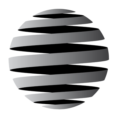 vector abstract globe Vector