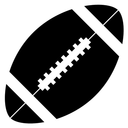 rugby ball: vector american football Illustration