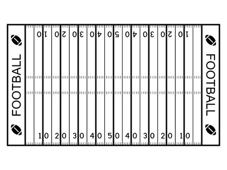 4,167 American Football Field Stock Illustrations, Cliparts And ...