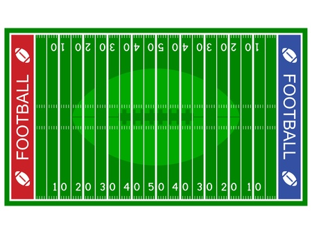 vector american football field Vector