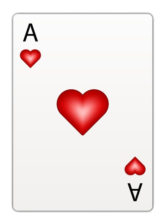 fortune graphics: vector heart ace
