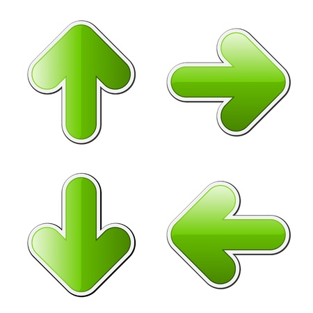 directional arrow: vector arrows Illustration