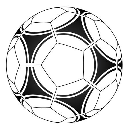 play ball: vector soccer ball Illustration