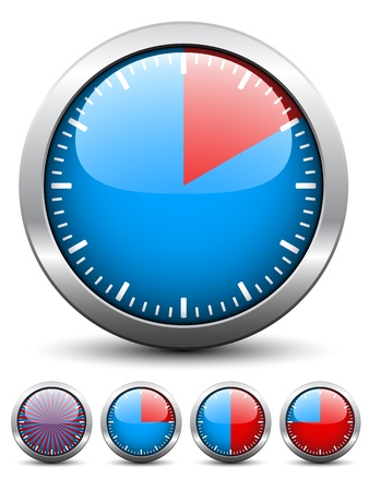 Vector timer - easy change time every one minute Vector