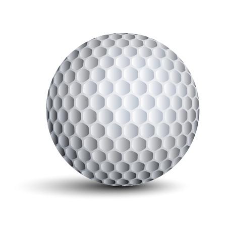 vector golfbal Vector Illustratie