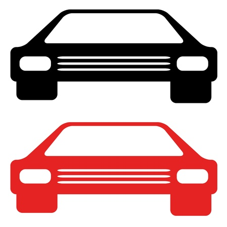 vector retro american car symbol Vector