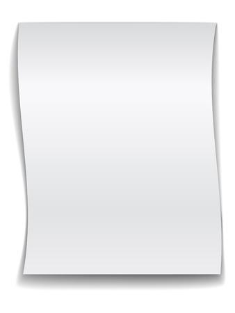 vector white wavy paper Stock Vector - 11519861