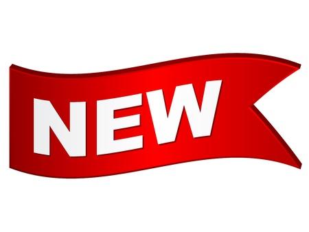 vector wavy new sign Stock Vector - 11519823