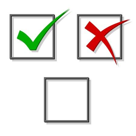 check marks: vector check marks