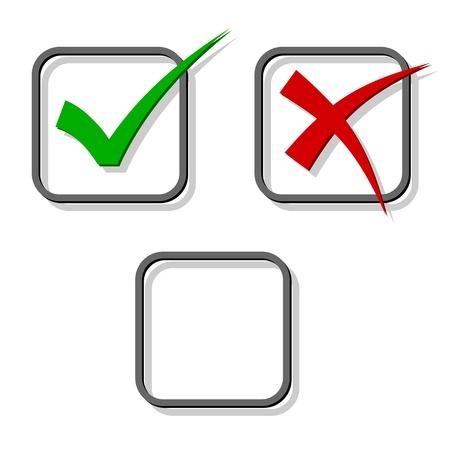 check icon: las marcas de verificaci�n de vectores