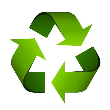 reciclar: vector de símbolo de reciclaje