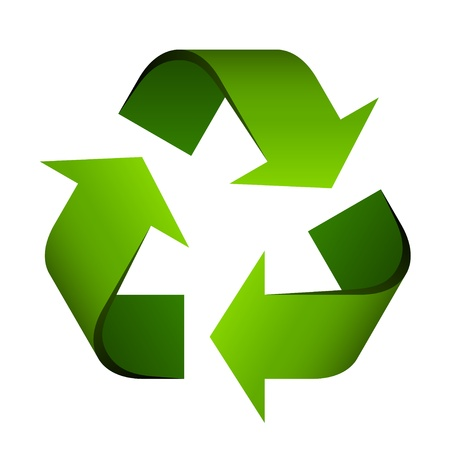 vector recycle symbol Illustration