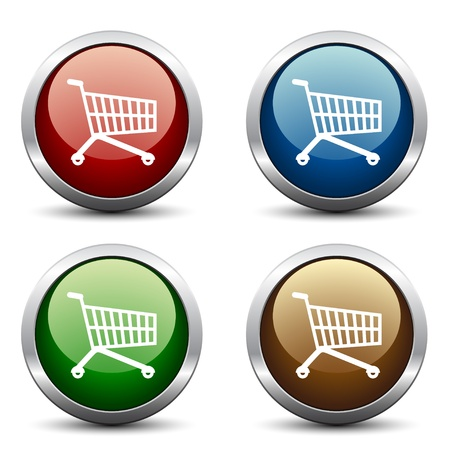 cart icon: Vector buy buttons