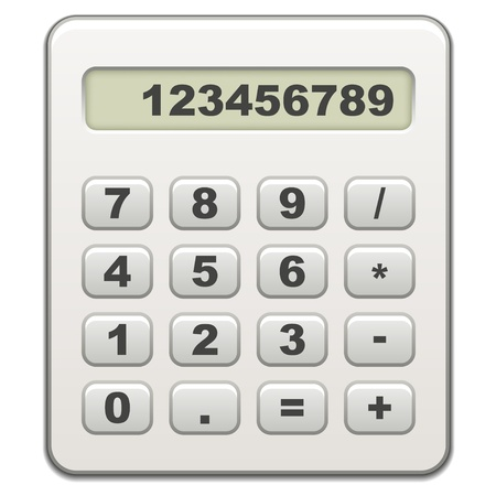 vector calculator Stock Vector - 11520567