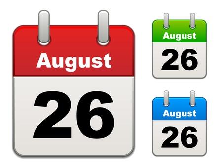 calendar isolated: vector calendar
