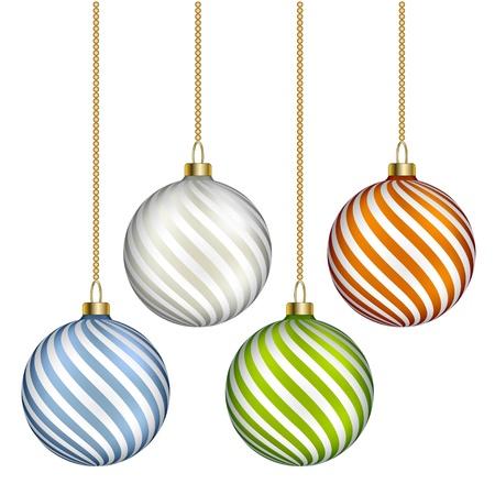 vector christmas balls Stock Vector - 11525496