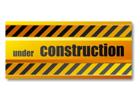 vector under construction sign Stock Vector - 11564579