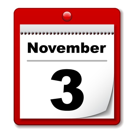 jour de calendrier vecteur d'arrachage