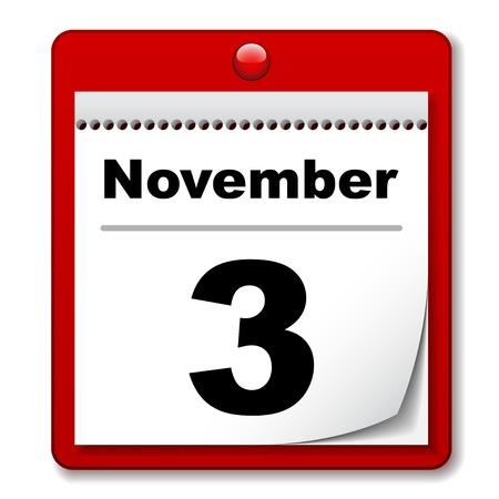 kalender: Vektor-Abrei�-Tage-Kalender