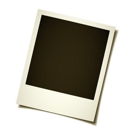 vector oud instant foto Vector Illustratie