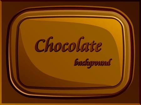 barra de chocolate: vector de barra de chocolate con estilo Vectores