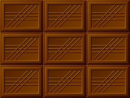 vector seamless chocolate bars Vector