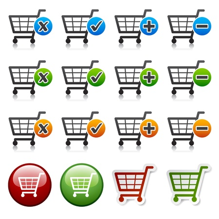 vector add delete shopping cart item Vector