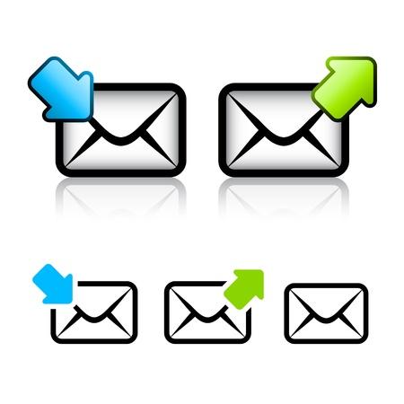 icona busta: vettoriale e-mail busta icona Vettoriali