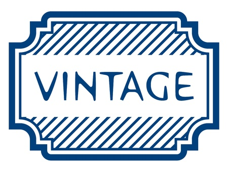 vector vintage certificate rubber stamp Vector