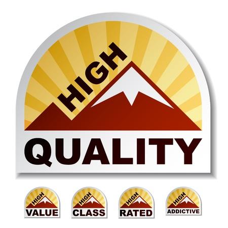 中毒性の: 高品質値クラス中毒山ステッカー  イラスト・ベクター素材