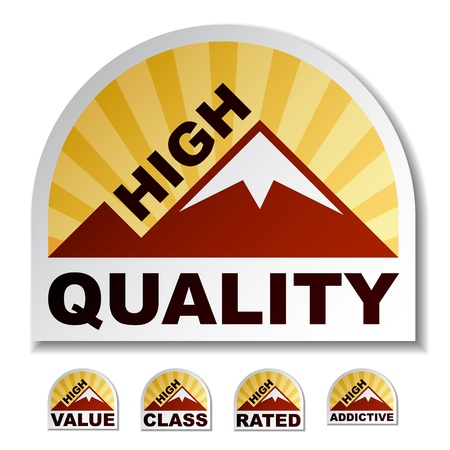 addictive: High quality value class rated addictive mountain stickers