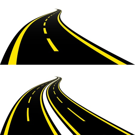 Roads Stock Vector - 12486199
