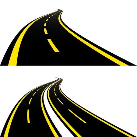 Roads Ilustrace