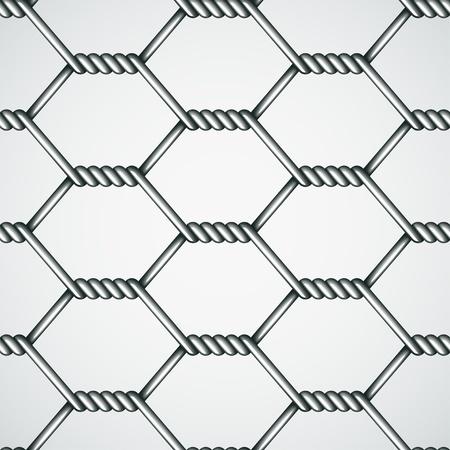 malla metalica: vector de alambre de pollo de fondo sin fisuras