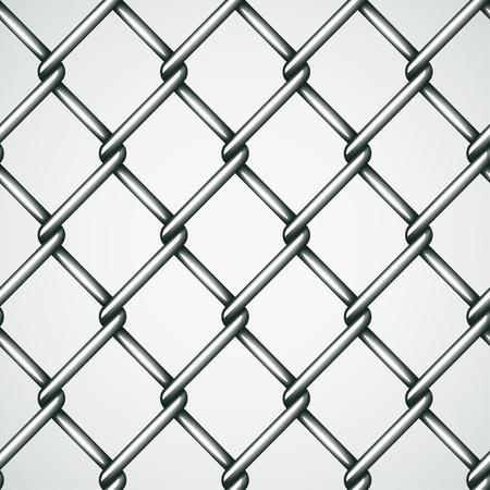 cadenas: alambre de la cerca de vectores de fondo sin fisuras