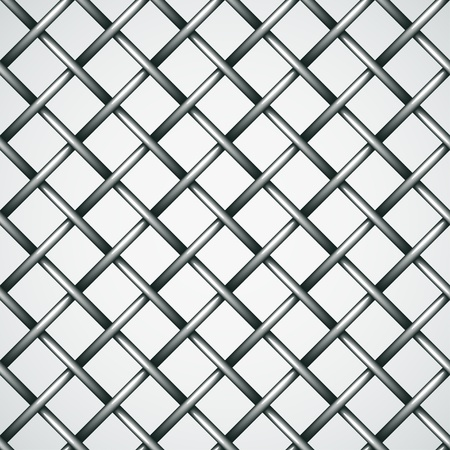 vector wire fence seamless background Stock Vector - 13540346