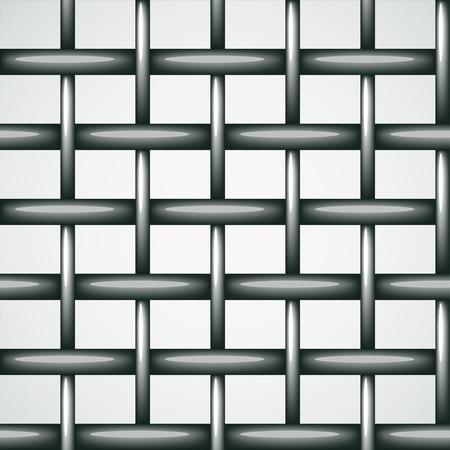 malla metalica: alambre de la cerca de vectores de fondo sin fisuras