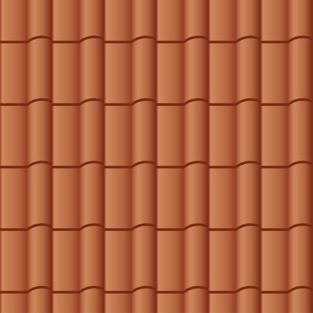 roof line: vector de teja de fondo sin fisuras